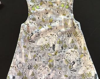 Woodland Dress - Grey