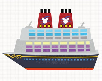 Disney Cruise Digital CLIP ARTS personal and commercial use