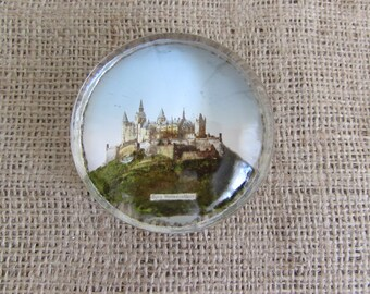 Paperweight, German Paperweight, Burg Hohenzellern Paperweight Germany, Paperweights, Collectible Paperweights, Germany Paperweight