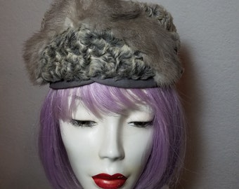FREE  SHIPPING  1950 Curly Lamb Hat