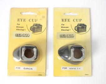 "vintage PENTAX manual camera CANON camera ""Eye Cup"" accessory for vintage SLR cameras"
