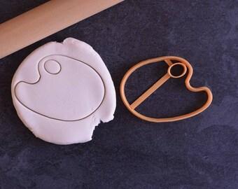Paint Palette cookie cutter