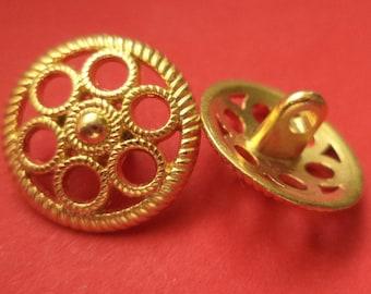 18 mm (4868) metal button jacket buttons buttons 12 METAL BUTTONS gold
