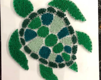 Sea Turtle String Art