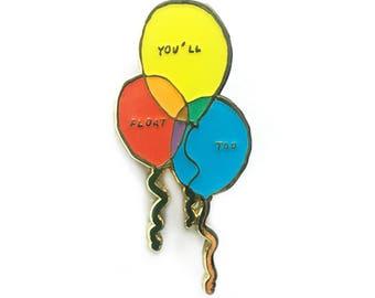 Balloons Enamel Pin