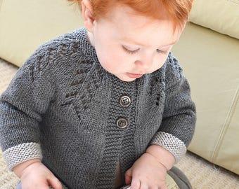 KNITTING PATTERN-Ciqala Arrowhead Sweater - P117