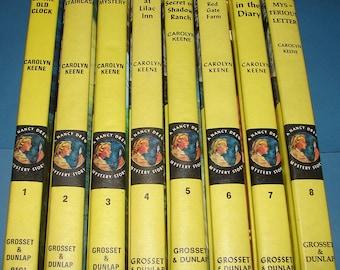 Nancy Drew Starter Set #1-8 1970s