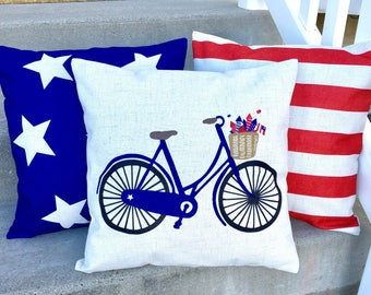 Bicycle-pillow cover