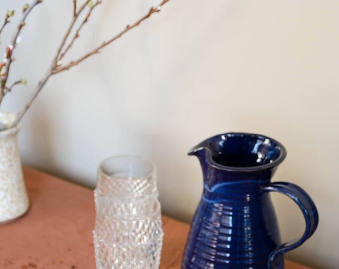 Vintage ceramic pitcher