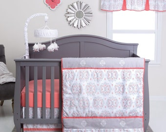 Valencia 3 Piece Baby Bedding Set, Baby Bedding, Nursery