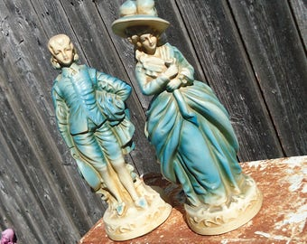 Vintage Victorian Couple from New Art Wares