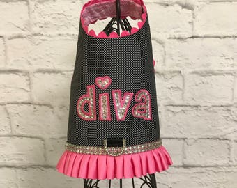 SUMMER:  Diva Dog Harness