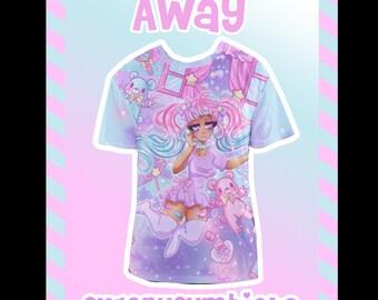 Away Mesh T-shirt