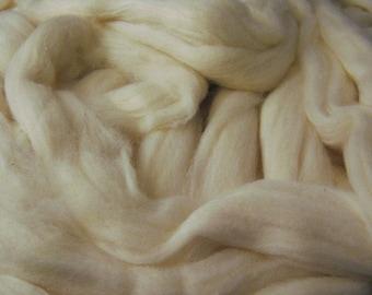 White Pima Cotton Sliver - 4 Ounces