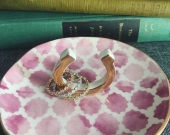 The Elizabeth (Tri-Colored Infinity Stacked Rings - Full Set)