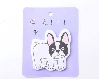 Dog Sticky Notes Frenchie / French Bulldog