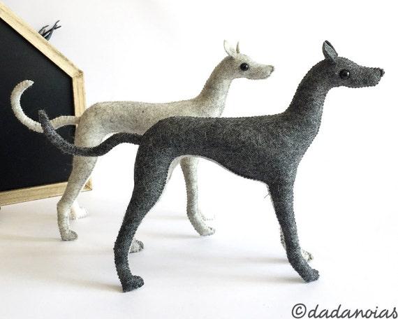 Galgo Oberón | Escultura Blanda | Galgo Miniatura | Galgo Arte
