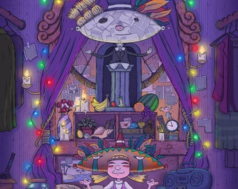 "Nickelodeon Hey Arnold Fan Art ""Helga's Closet"""