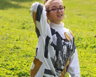 Comfortable Art to Wear sweater by V. C. Torias