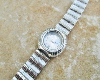 925 Sterling Silver Watch Bracelet, Design by Porans, Artistic Jewelry, Israel