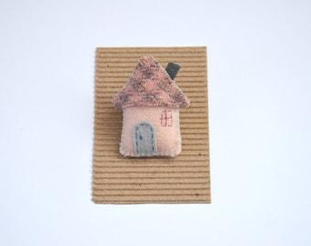 Little Wool House Brooch