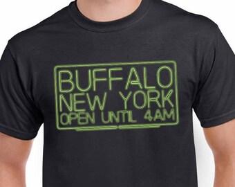 Buffalo NY Open Until 4am Bar Crawl T-shirt