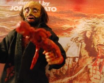 ANTHROPOPHAGOUS aka the Grim Reaper Joe Amato, 31 cm (horror doll) articulated doll.