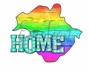 Home, province, New Brunswick, Canada, clipart, sublimation, scrapbooking, PNG