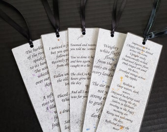 Poetry, Bookmark - Lilac