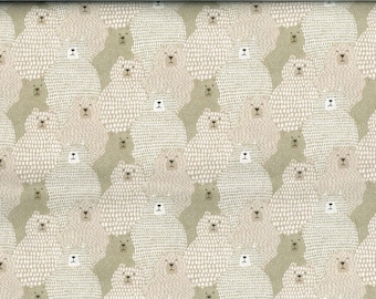 Moda fabric bear big sky