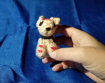 Dragon Age Mabari Crochet Keychain