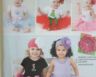 Infant and Toddler Tutu Sewing Pattern