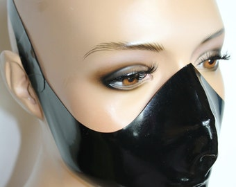 CL Design Latex Medical Mask ergonomically shaped Roleplay fetish rubber