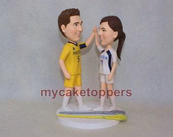 custom wedding cake topper give me five
