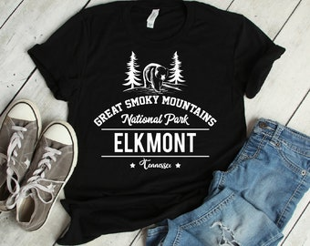 Smoky Mountains National Park Elkmont T-Shirt | elkmont, gatlinburg tennessee, pigeon forge tn, smoky mountains, great smoky mountain