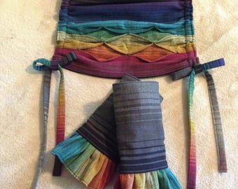 Ready to Ship! Tula Baby Carrier Inspired Accessories ... Girasol Hope in the Dark, Full Set ... Ready to ship!