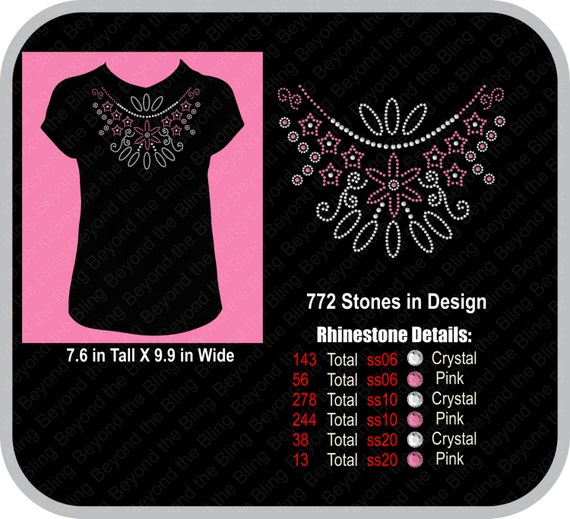 Rhinestone Download Template DIY Rhinestone Instant Download - How to make rhinestone templates