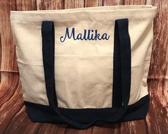 Bridesmaid Tote Bag* Monogram Tote Bag* Monogrammed Tote* Personalized Tote* Canvas Tote Bag* Personalized Gift* Bridesmaid Gift* Monogram