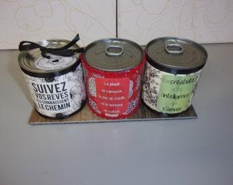 trio of tea box