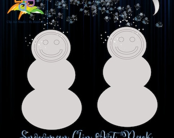 Snowman Clip Art Mini-Pack - Master Reseller Rights