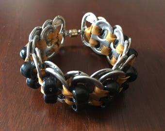 One of kind boho bracelet