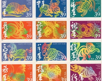 Chinese New Year - Happy New Year - 2006 - Full Sheet (12) - US Postage Stamps  - Mint - Unused - Scott 3997