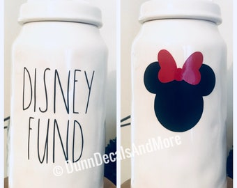 Rae Dunn Inspired Disney Fund Decals