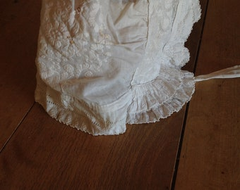 1800s young girl's bonnet