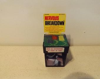 Rare Unique Kohner  row Nervous Breakdown Game