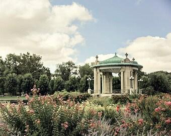 """St. Louis Photograph. """"Forest Park Pavillion"""" Fine Art Print. Missouri Architecture, Wall Art, Home Decor"""