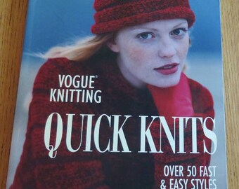 Book -Quick Knits - Vogue Knitting