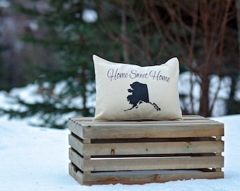 State Pillow Personalized, housewarming, Military retirement, Tennessee pillow, Home Sweet, Retirement gift, Relocation, moving, going away