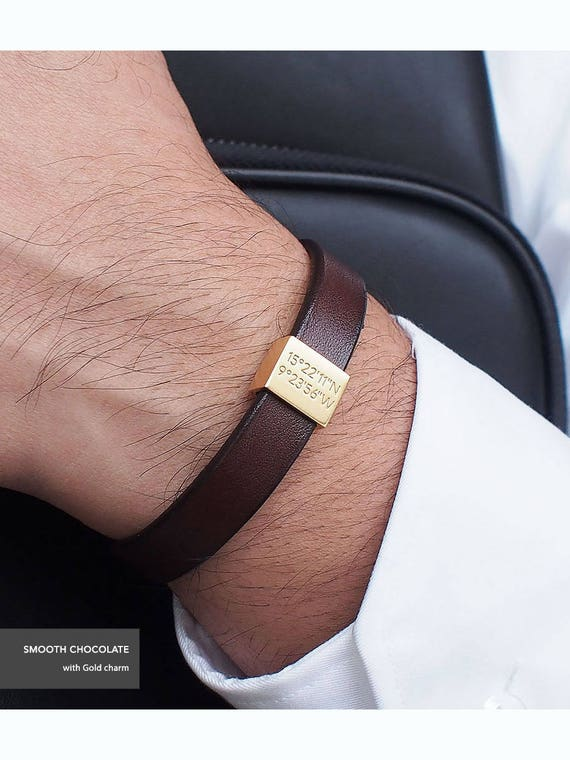 For the cool dad that wears the leather bracelet. So cool.