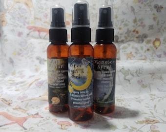 Essential Oil Fairytale Sleep, Nightmare, and Deodorizing Room Linen Spray